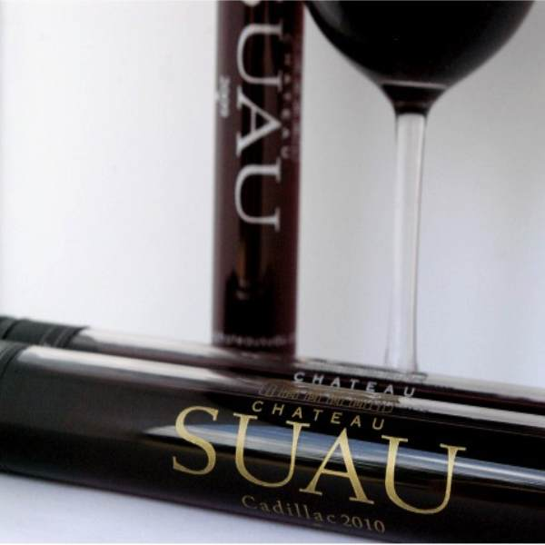 Chateau Suau Cadillac Cotes de Bordeaux 2010 Red Wine - Drink in Tube NZ